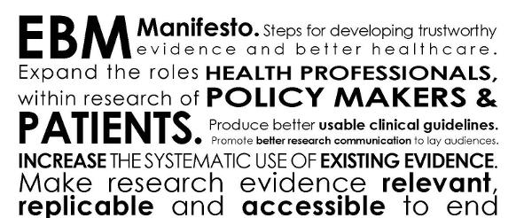Il manifesto EBM per migliorare l'assistenza sanitaria: la Fondazione GIMBE pubblica la versione italiana ufficiale