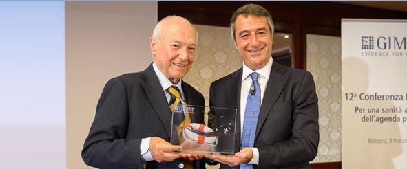 A Piero Angela il premio Salviamo il nostro Servizio Sanitario Nazionale