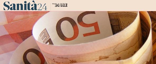Spesa sanitaria delle famiglie a 40 miliardi: il dato e' reale, ma le previsioni catastrofiche del Censis sono un falso allarme